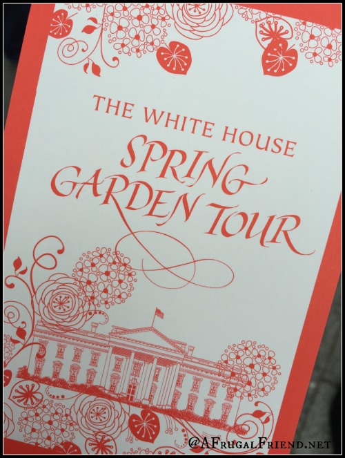 The White House Spring Garden Tour
