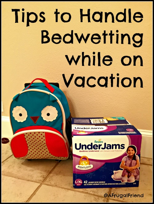 Tips to Handle Bedwetting while on vacation