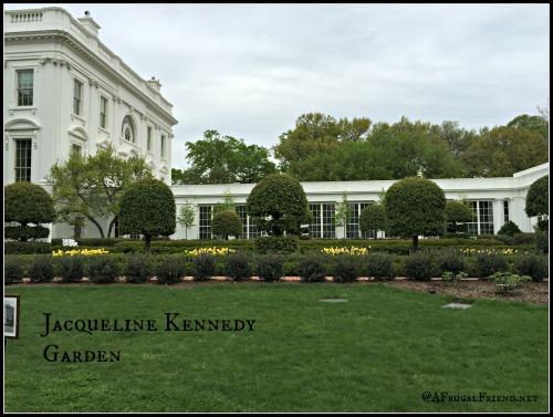 White House Jacqueline Kennedy Garden