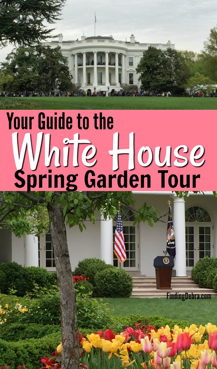 White House Spring Garden Tour - Guide to