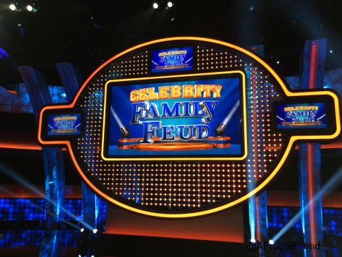 Celebrity Family Feud Stage