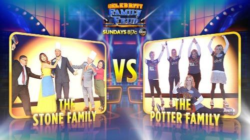 Celebrity Family Feud Stone v Potter