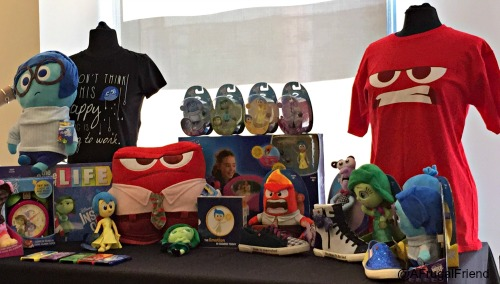 Inside Out Disney Consumer Products Lineup