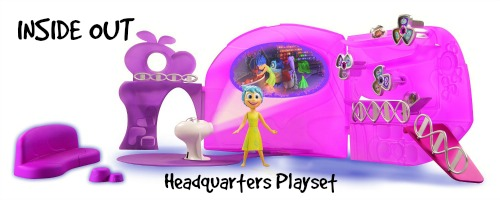 Inside Out Headquarters Playset