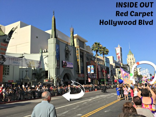 Inside Out Premiere Hollywood Blvd