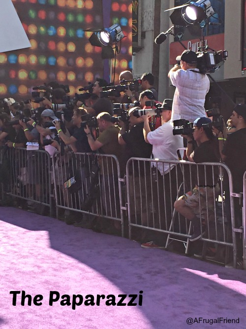 Inside Out Premiere Paparazzi