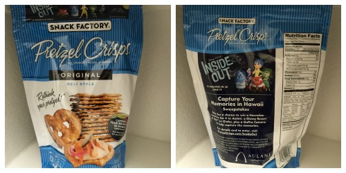 Inside Out Pretzel Crisps