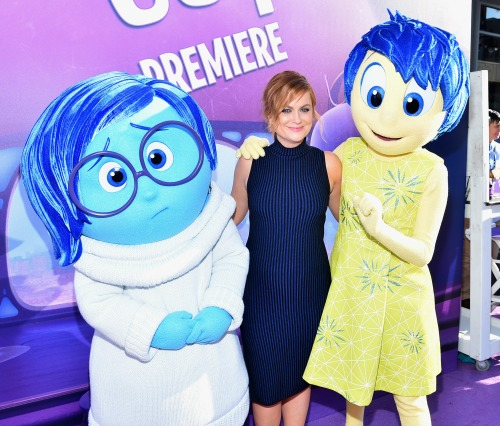 Inside Out Red Carpet Amy Poehler