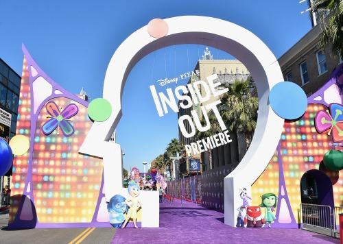 Inside Out Red Carpet Entrance