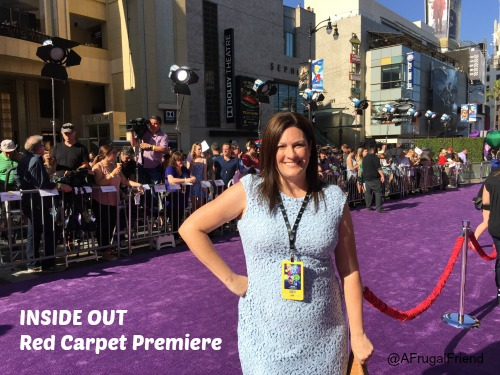 Inside Out Red Carpet Premiere Dress