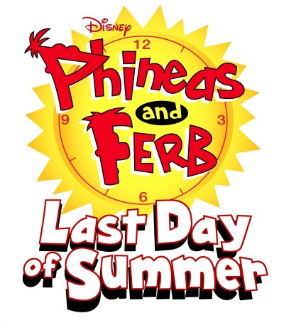 Phineas and Ferb Last Day of Summer Logo