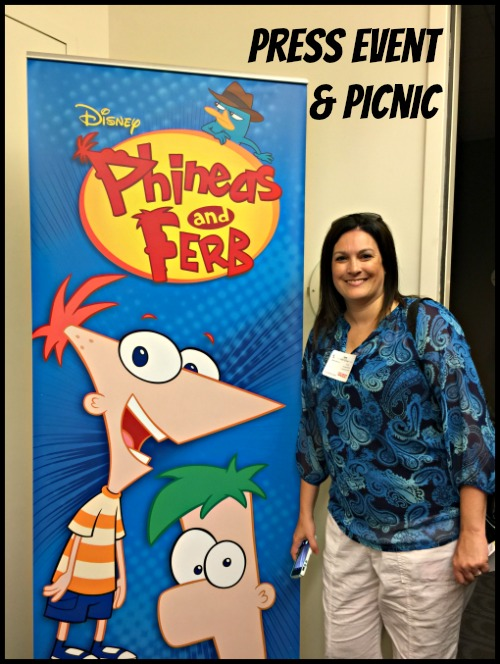 Phineas and Ferb Press Event and Picnic