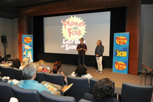 Phineas and Ferb Screening