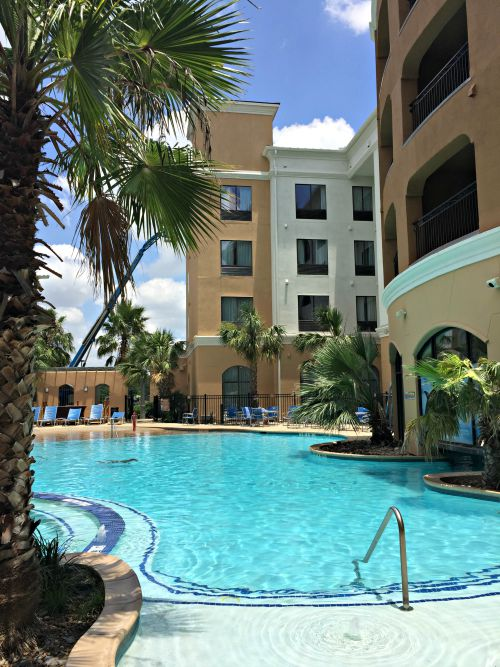 Courtyard Marriott San Antonio SeaWorld Pool
