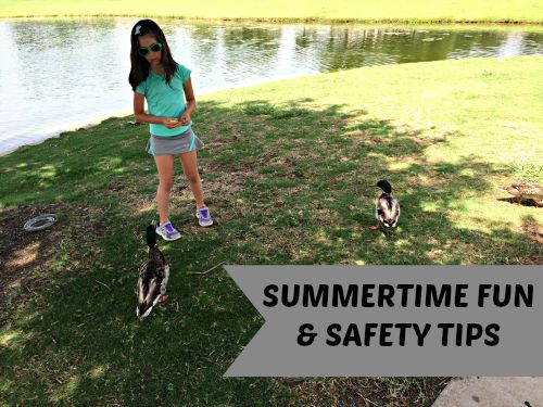Summertime Fun and Safety Tips