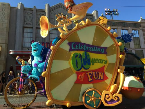 California Adventure Pixar Parade