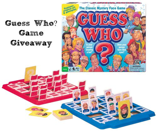 Guess Who Game Giveaway