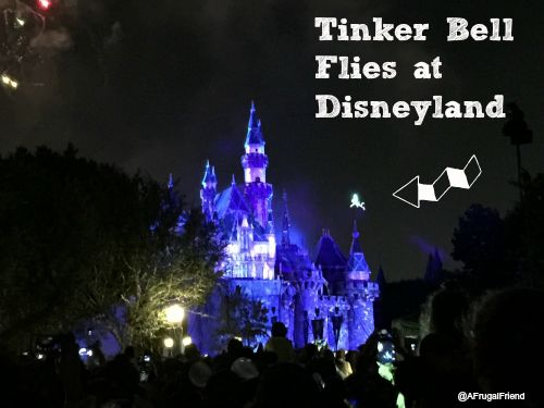 Tinker Bell Flies at Disneyland
