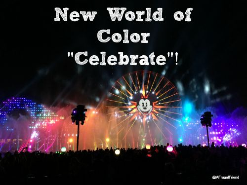 World of Color Celebrate