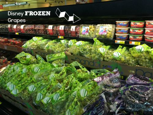 Disney Frozen Grapes at Walmart