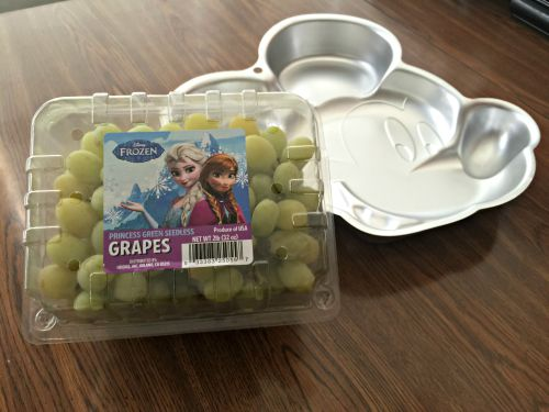 Disney Frozen Princess Green Seedless Grapes
