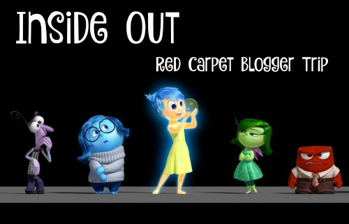 Inside Out Red Carpet Blogger Trip