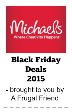 Michaels Black Friday Deals 2015