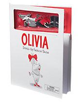 Olivia Dress Up Magnets Books