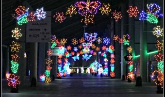 Texas Motor Speedway Gift of Lights – A Must See for Texans!