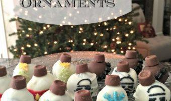 Disney Themed OREO Cookie Ball Ornaments