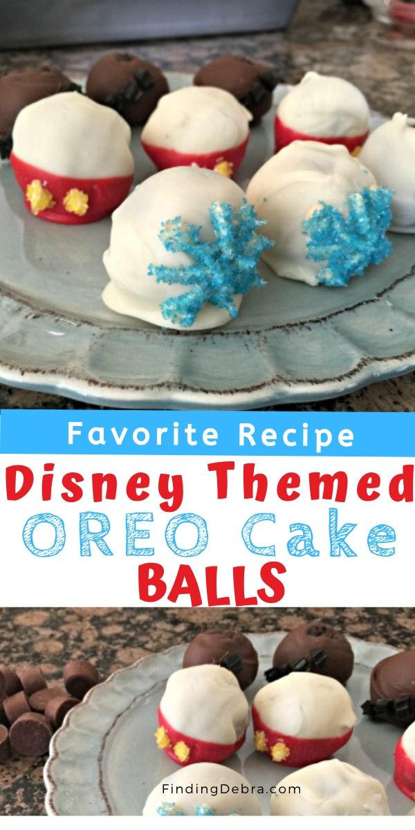 Disney themed Oreo Cake Balls