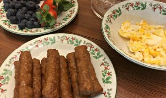 A Favorite Past-Time  – Breakfast for Dinner (Holiday Version)