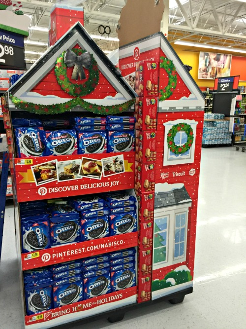 OREO Display at Walmart