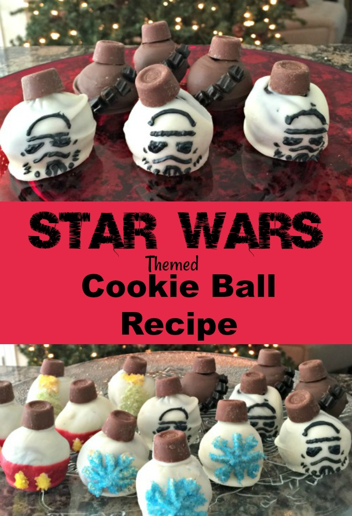 Star Wars Themed Cookie Ball Recipe