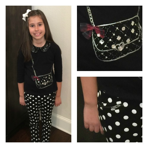 The Children's Place Purse Polka Dot Outfit