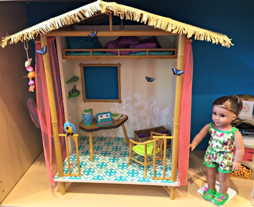 American Girl Lea's Rainforest house
