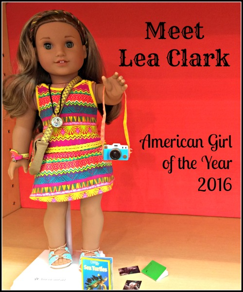 American Girl of the Year 2016 Lea Clark
