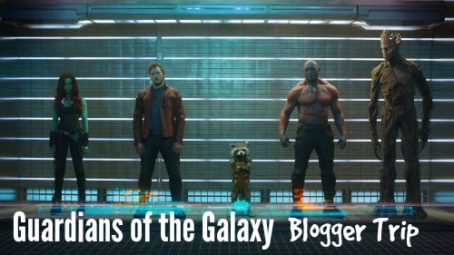 Guardians of the Galaxy Blogger Trip