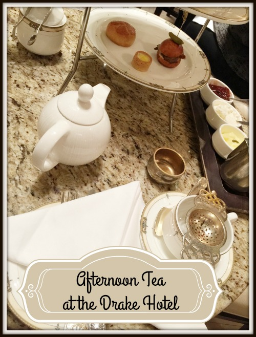 Afternoon Tea at the Drake Hotel