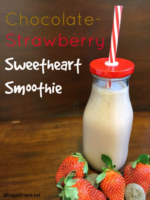 Chocolate Strawberry Sweetheart Smoothie
