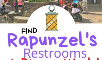 Find Rapunzel's Restrooms at Disney World