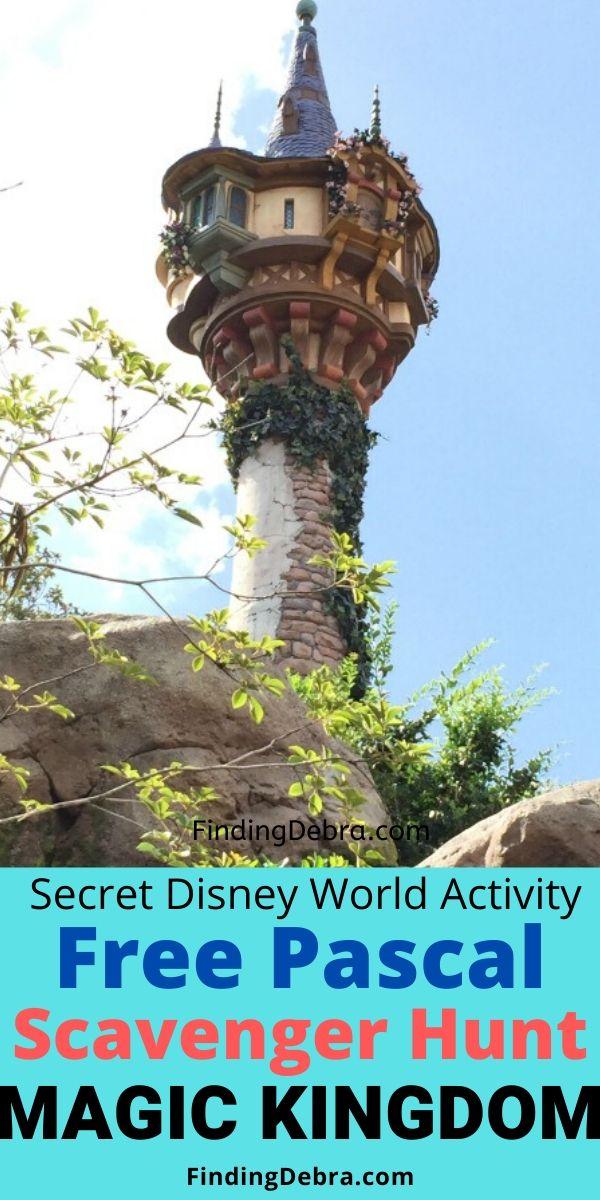 Free Pascal Scavenger Hunt at Magic Kingdom Disney World