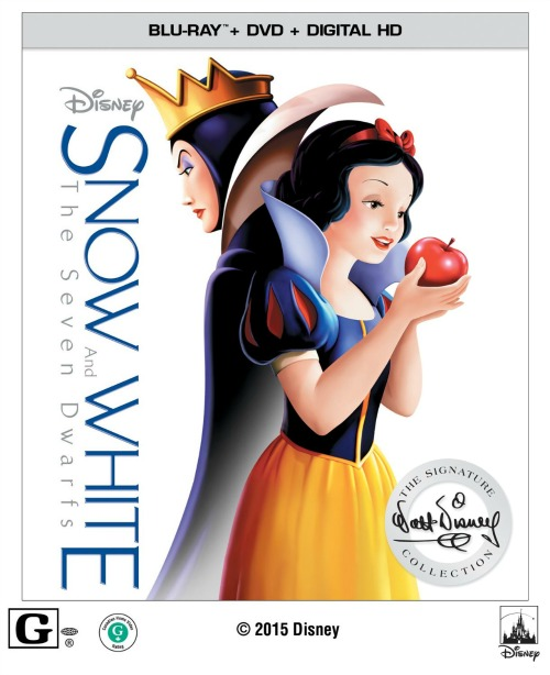 Snow White and the Seven Dwars on BluRay
