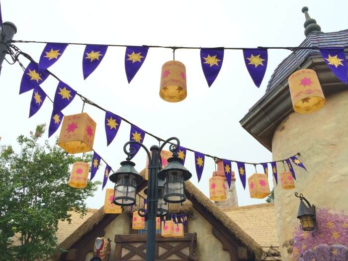 Tangled Lanters at Magic Kingdom