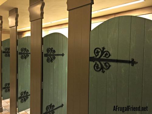Tangled Restroom Disney World doors