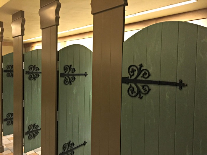 Tangled Themed Restroom Stall Doors