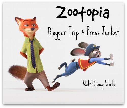 Zootopia Blogger Trip and Press Junket