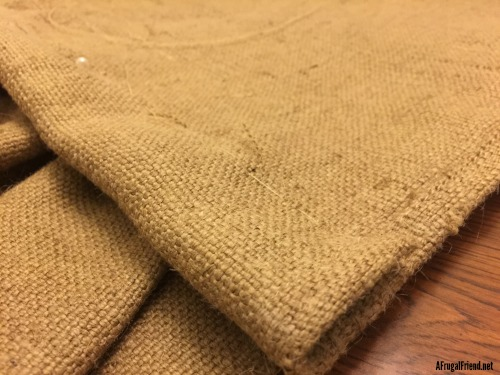 DIY Burlap Curtain Tutorial