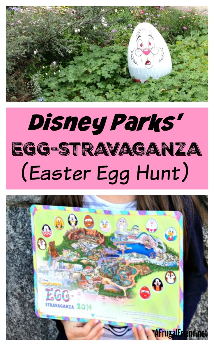 Disney Egg-Stravaganza Easter Egg Hunt