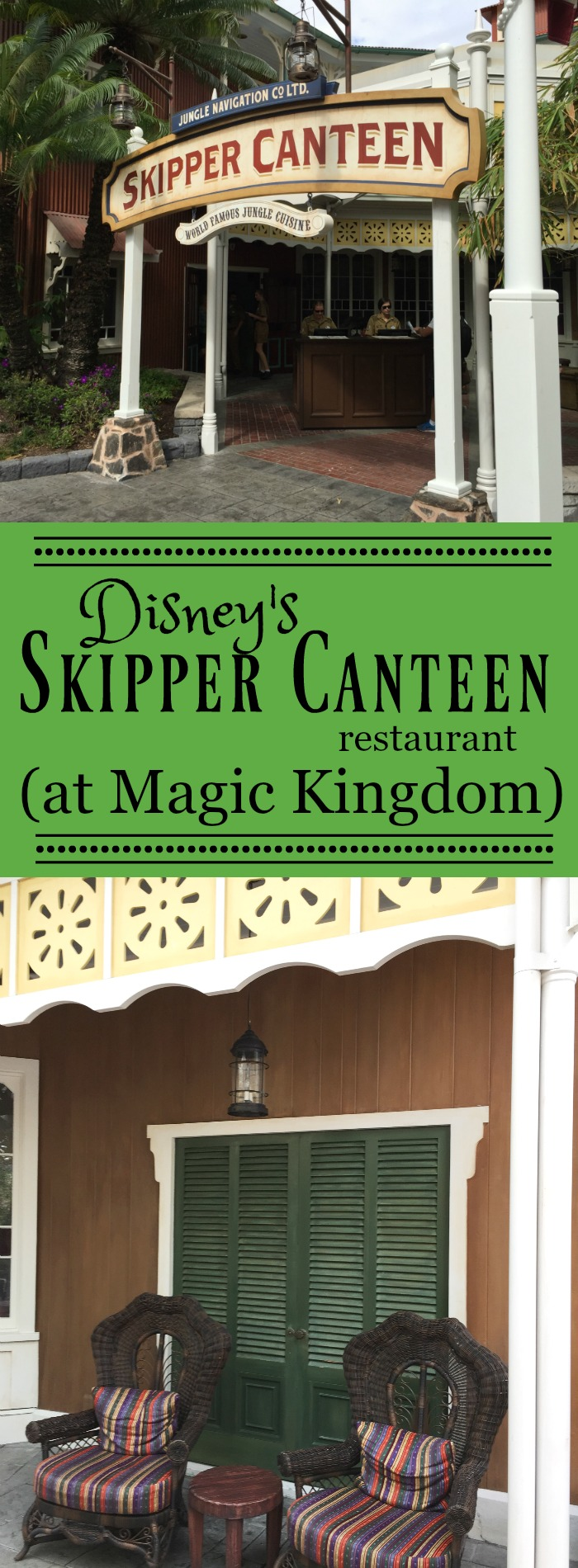 Disney's Skipper Canteen Restaurant at Magic Kingdom